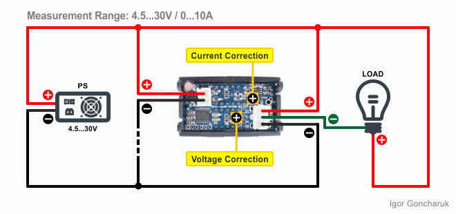 ᐉ H27vi5 Dual Display Digital Dc Voltmeter Ammeter 100v 10a Blog Igor Goncharuk